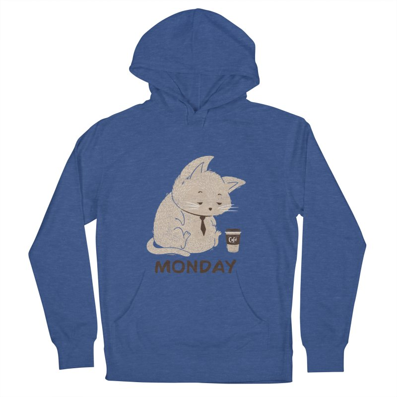 Monday Cat Men's Pullover Hoody by Tobe Fonseca's Artist Shop