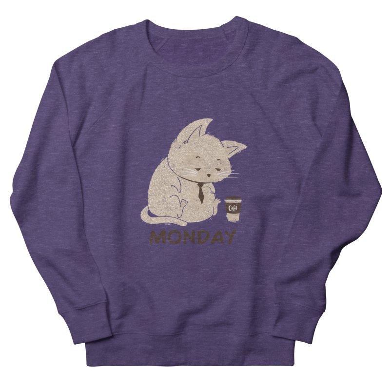 Monday Cat Women's Sweatshirt by Tobe Fonseca's Artist Shop