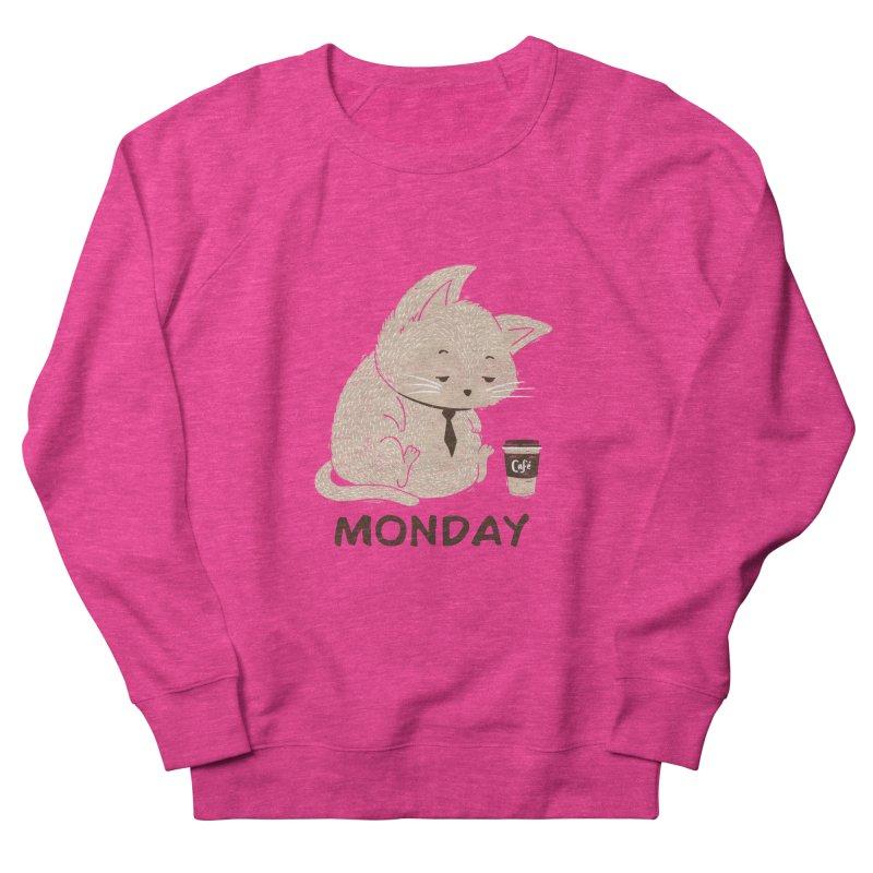 Monday Cat Men's Sweatshirt by Tobe Fonseca's Artist Shop