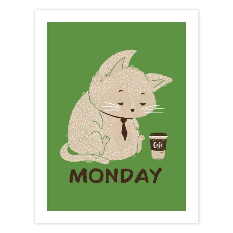 Monday Cat Home Fine Art Print by Tobe Fonseca's Artist Shop