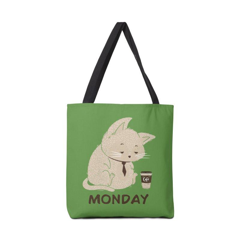 Monday Cat Accessories Bag by Tobe Fonseca's Artist Shop
