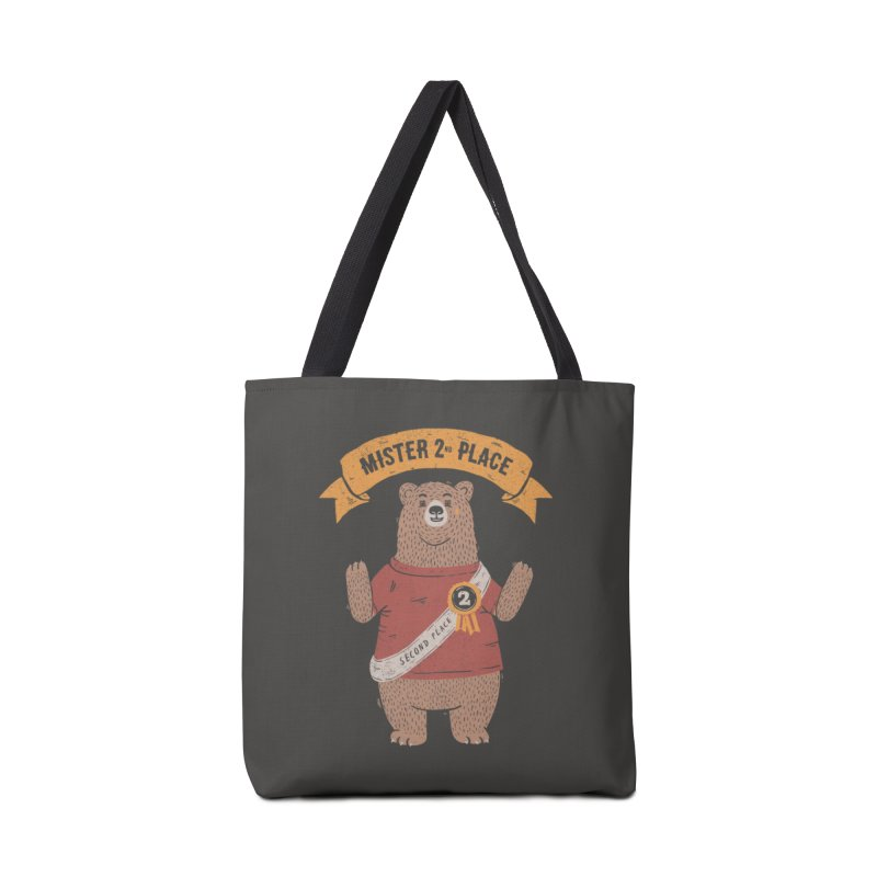 2nd Place Bear Accessories Bag by Tobe Fonseca's Artist Shop