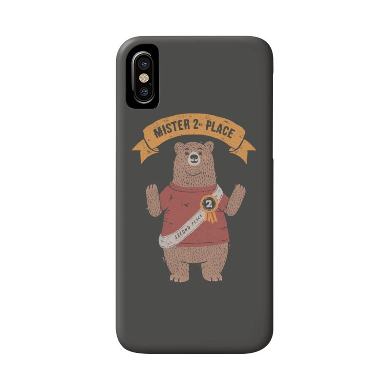 2nd Place Bear Accessories Phone Case by Tobe Fonseca's Artist Shop