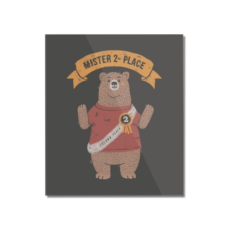 2nd Place Bear Home Mounted Acrylic Print by Tobe Fonseca's Artist Shop
