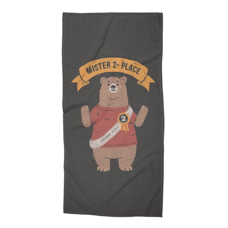 2nd Place Bear Accessories Beach Towel by Tobe Fonseca's Artist Shop