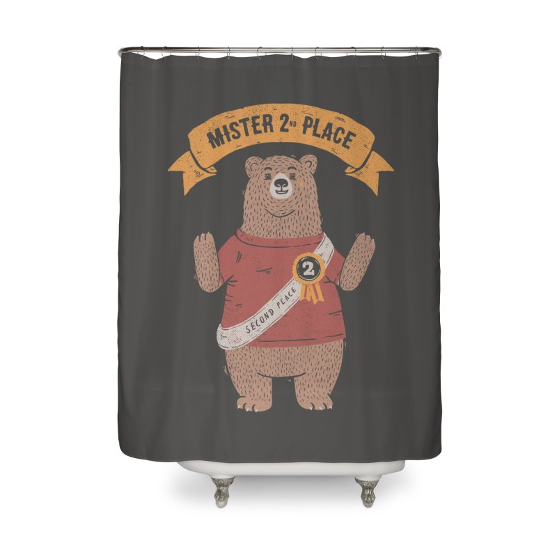 2nd Place Bear Home Shower Curtain by Tobe Fonseca's Artist Shop