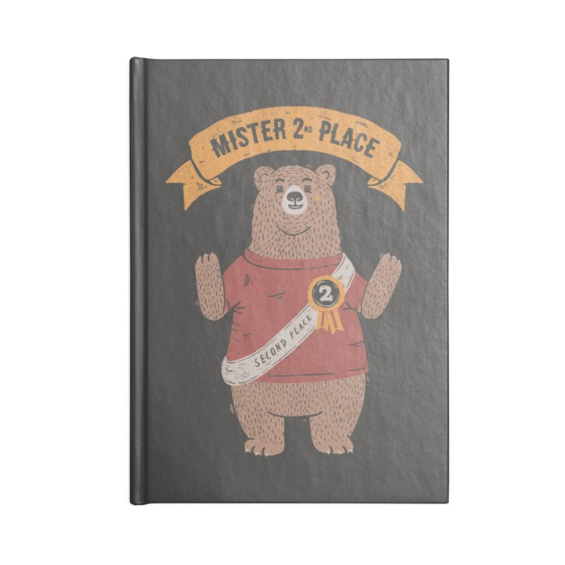 2nd Place Bear Accessories Notebook by Tobe Fonseca's Artist Shop