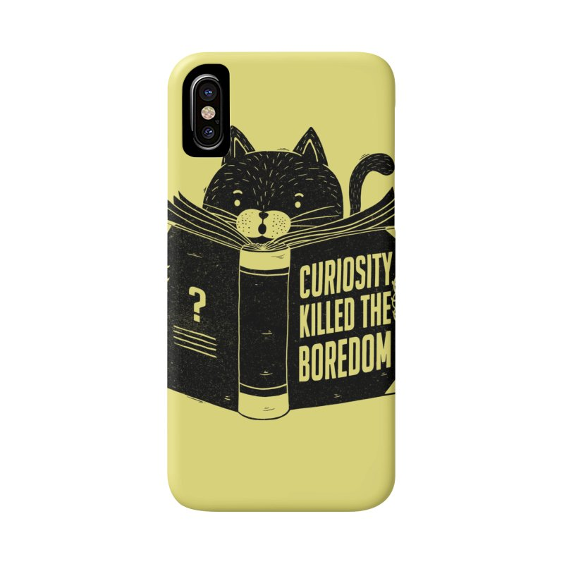 Curiosity Killed The Boredom Accessories Phone Case by Tobe Fonseca's Artist Shop