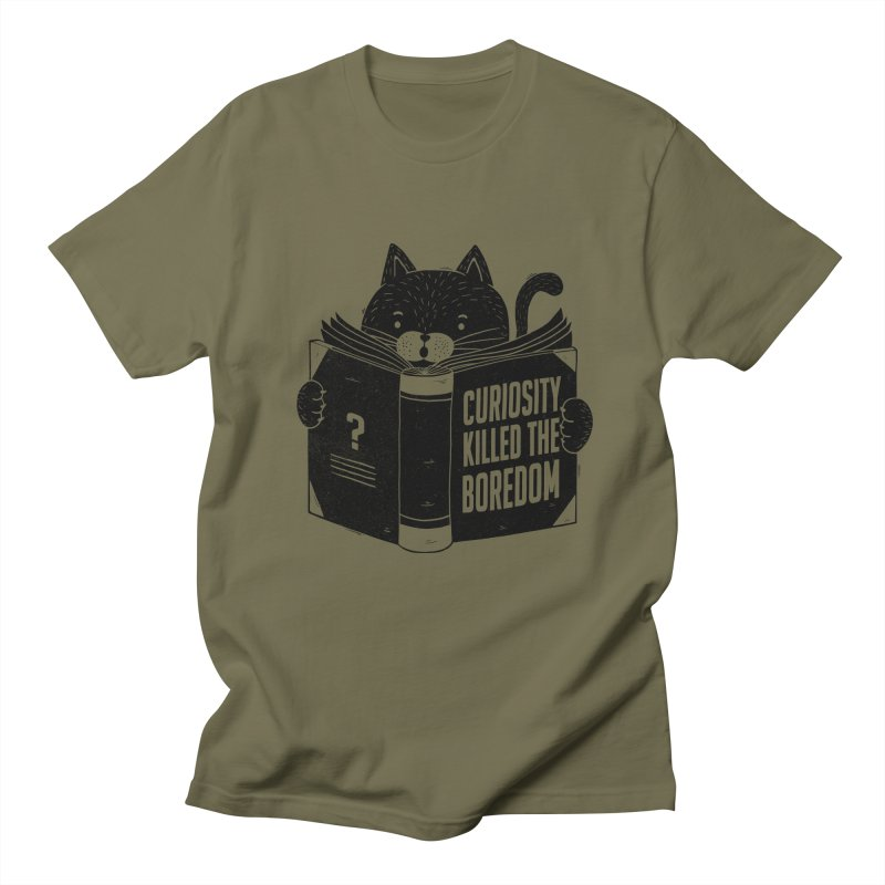 Curiosity Killed The Boredom Women's Unisex T-Shirt by Tobe Fonseca's Artist Shop