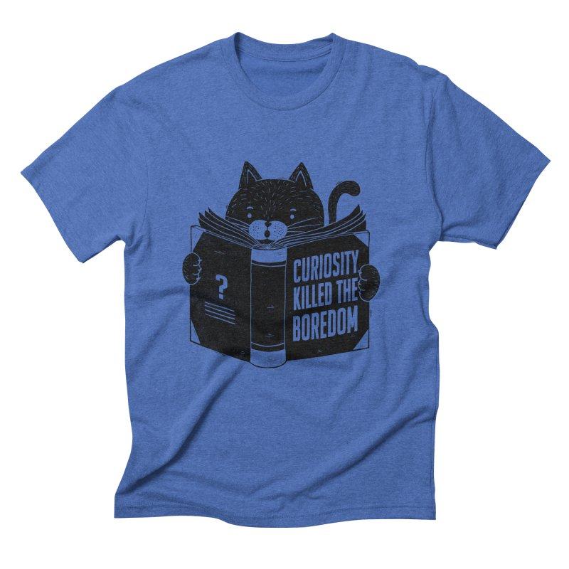 Curiosity Killed The Boredom Men's Triblend T-Shirt by Tobe Fonseca's Artist Shop