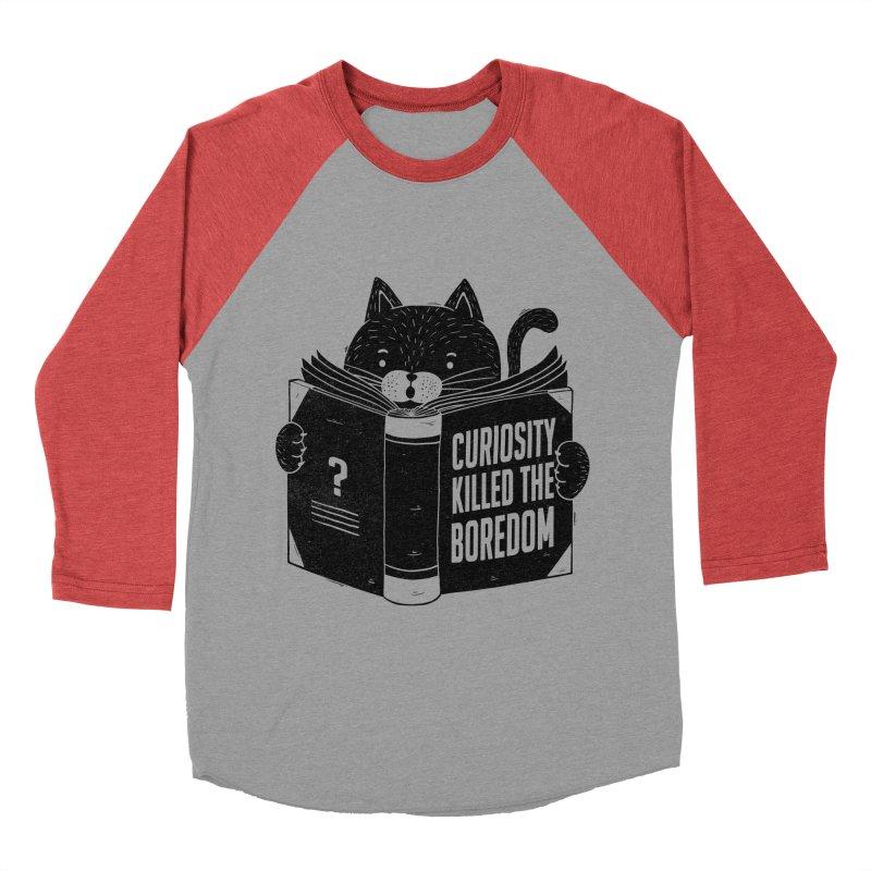 Curiosity Killed The Boredom Women's Baseball Triblend T-Shirt by Tobe Fonseca's Artist Shop