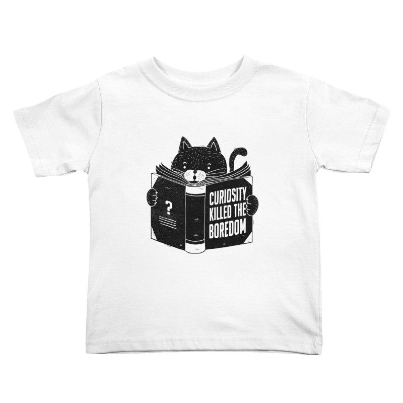 Curiosity Killed The Boredom Kids Toddler T-Shirt by Tobe Fonseca's Artist Shop