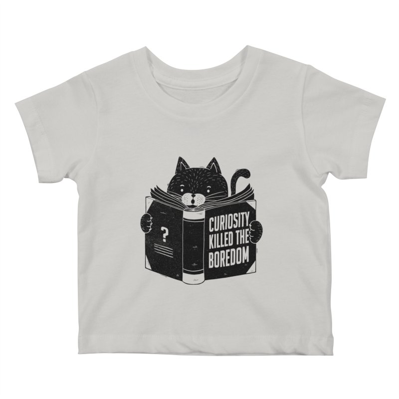 Curiosity Killed The Boredom Kids Baby T-Shirt by Tobe Fonseca's Artist Shop