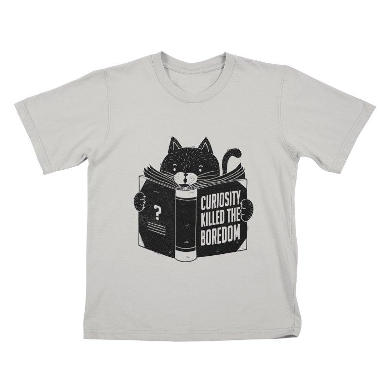 Curiosity Killed The Boredom Kids T-Shirt by Tobe Fonseca's Artist Shop