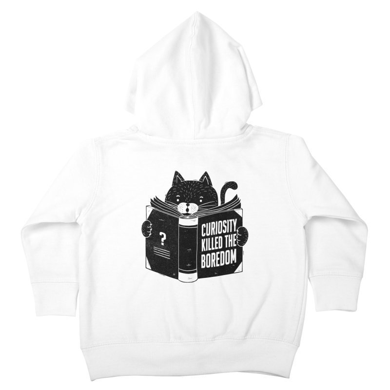 Curiosity Killed The Boredom Kids Toddler Zip-Up Hoody by Tobe Fonseca's Artist Shop