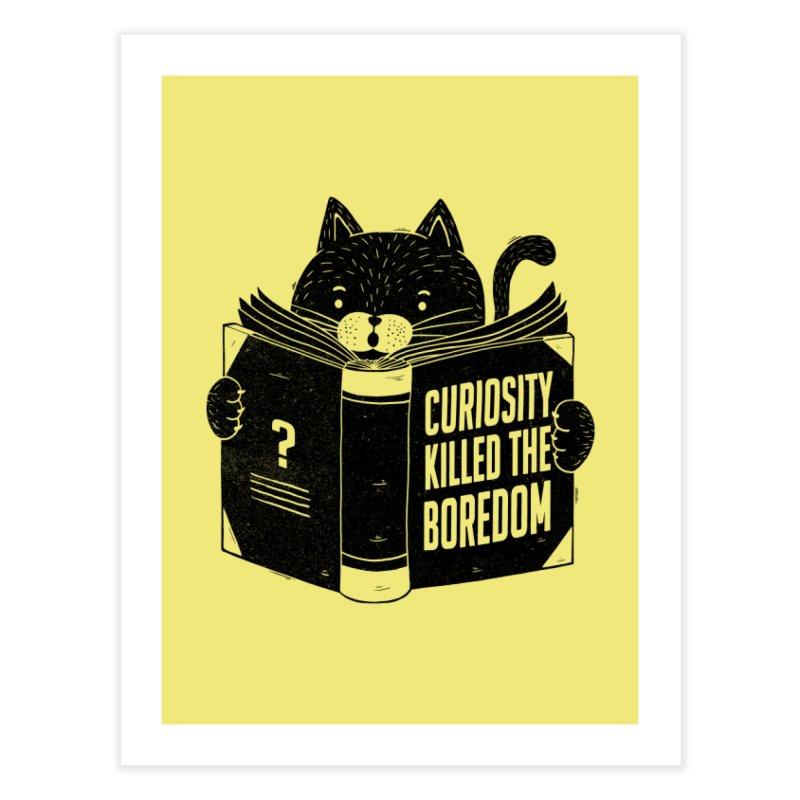 Curiosity Killed The Boredom Home Fine Art Print by Tobe Fonseca's Artist Shop