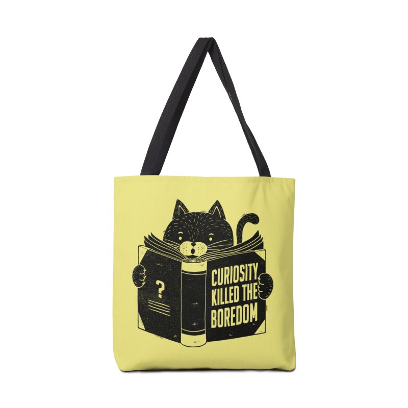 Curiosity Killed The Boredom Accessories Bag by Tobe Fonseca's Artist Shop