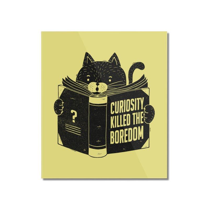 Curiosity Killed The Boredom Home Mounted Acrylic Print by Tobe Fonseca's Artist Shop