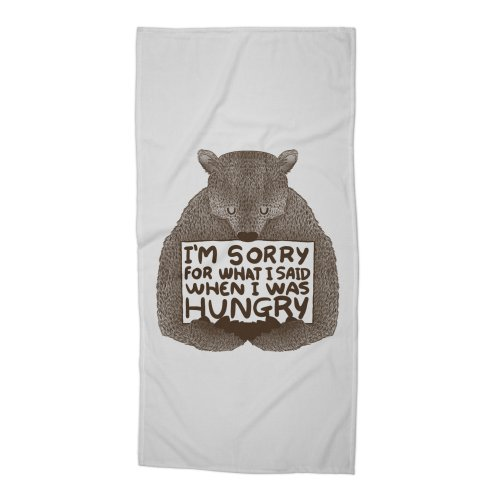 image for I'm Sorry For What I Said When I Was Hungry