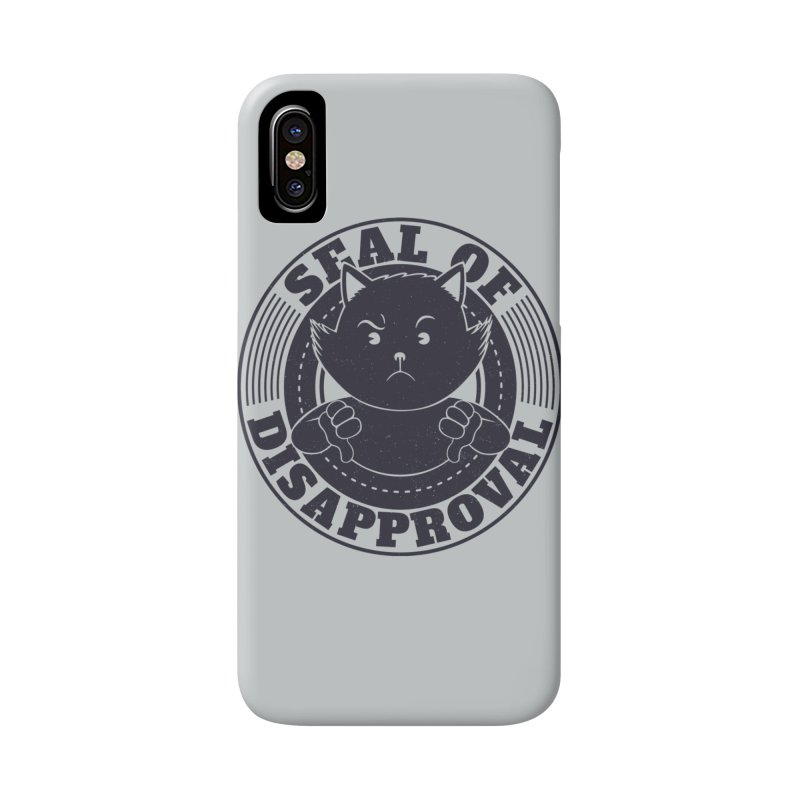 Seal Of Disapproval Accessories Phone Case by Tobe Fonseca's Artist Shop