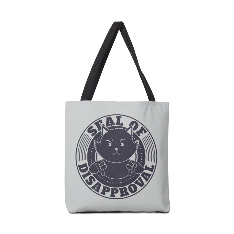 Seal Of Disapproval Accessories Bag by Tobe Fonseca's Artist Shop