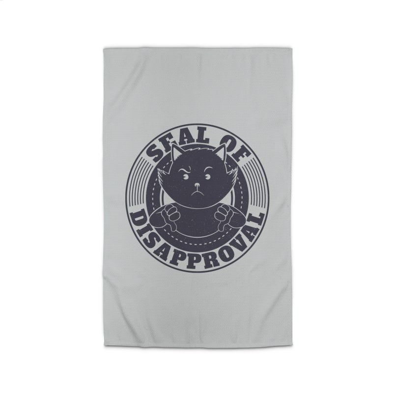 Seal Of Disapproval Home Rug by Tobe Fonseca's Artist Shop