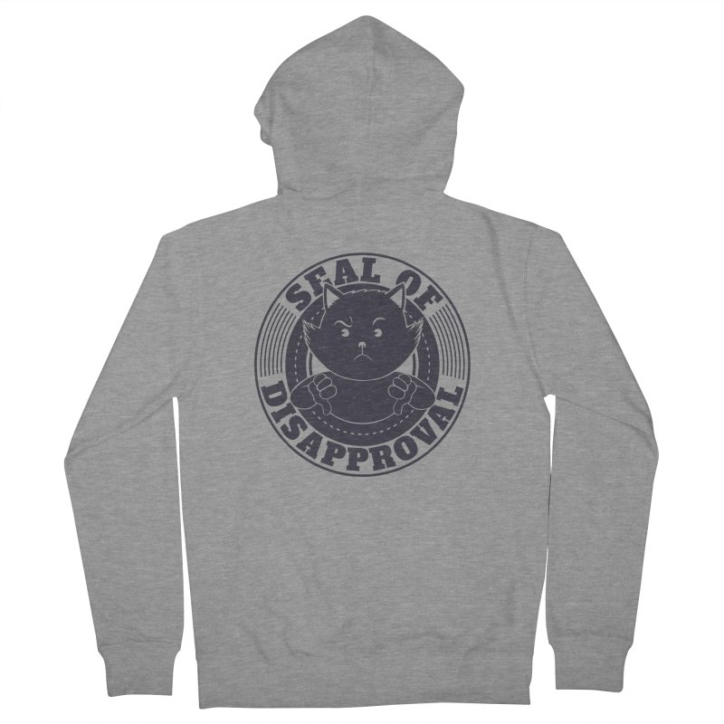 Seal Of Disapproval Men's Zip-Up Hoody by Tobe Fonseca's Artist Shop