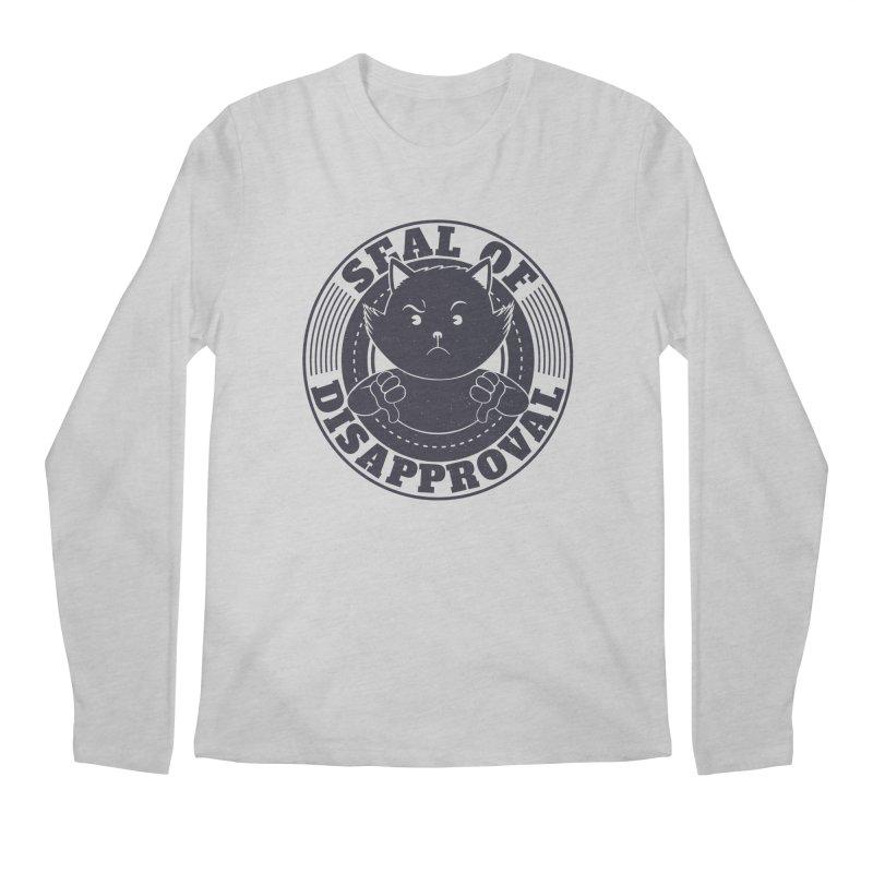 Seal Of Disapproval Men's Longsleeve T-Shirt by Tobe Fonseca's Artist Shop