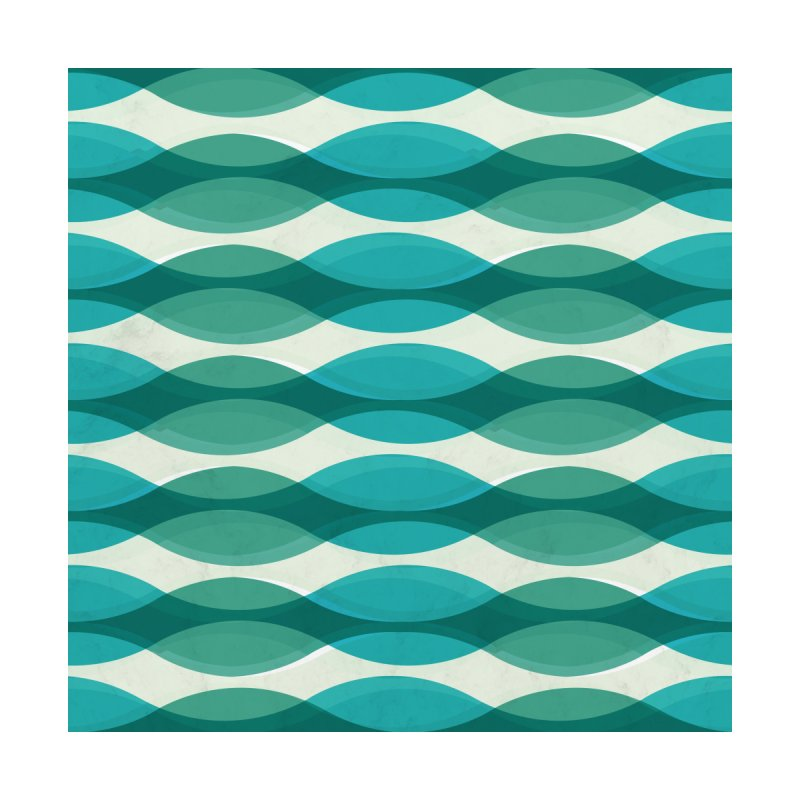 Aquamarine Waves Sea Home Rug by Tobe Fonseca's Artist Shop