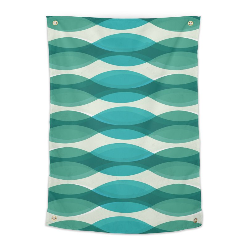 Aquamarine Waves Sea Home Tapestry by Tobe Fonseca's Artist Shop