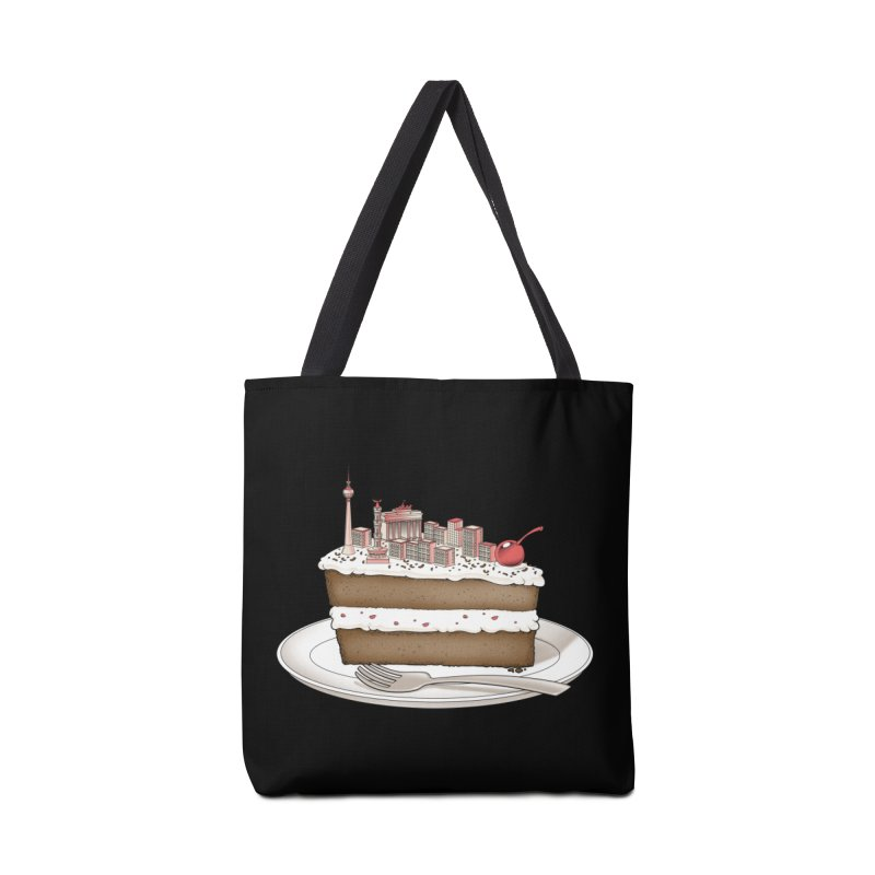 Hungry for Travels: Slice of Berlin Accessories Bag by Tobe Fonseca's Artist Shop