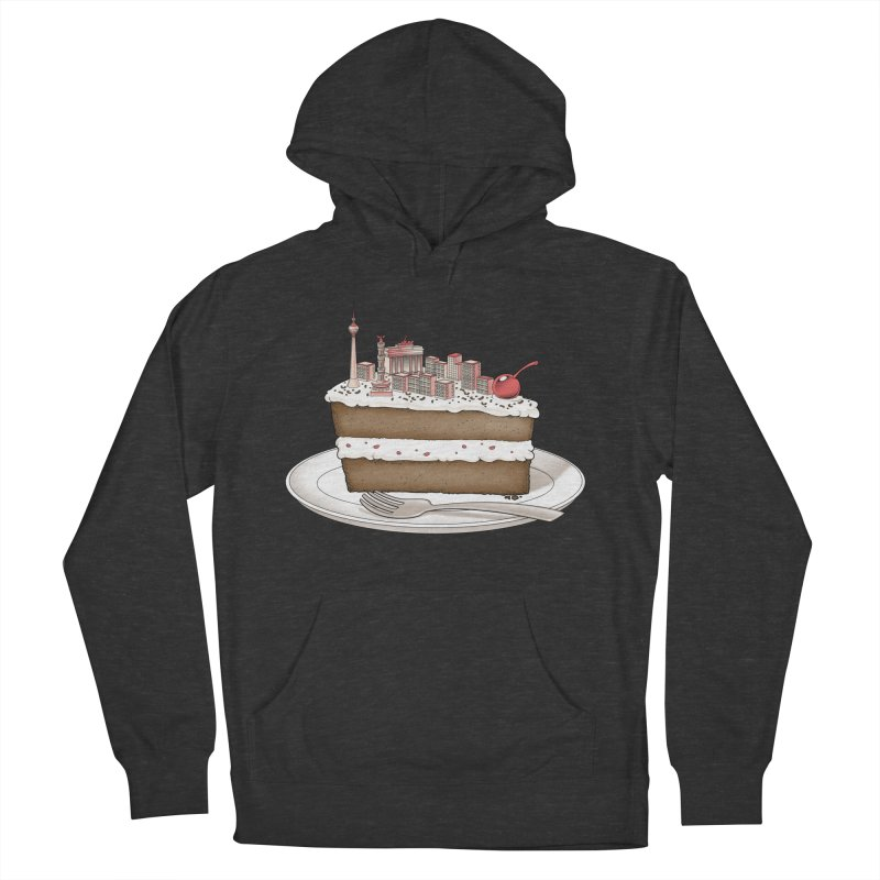 Hungry for Travels: Slice of Berlin Women's Pullover Hoody by Tobe Fonseca's Artist Shop