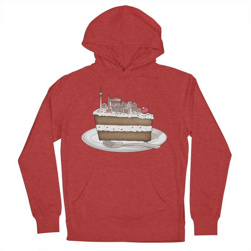 Hungry for Travels: Slice of Berlin Men's Pullover Hoody by Tobe Fonseca's Artist Shop
