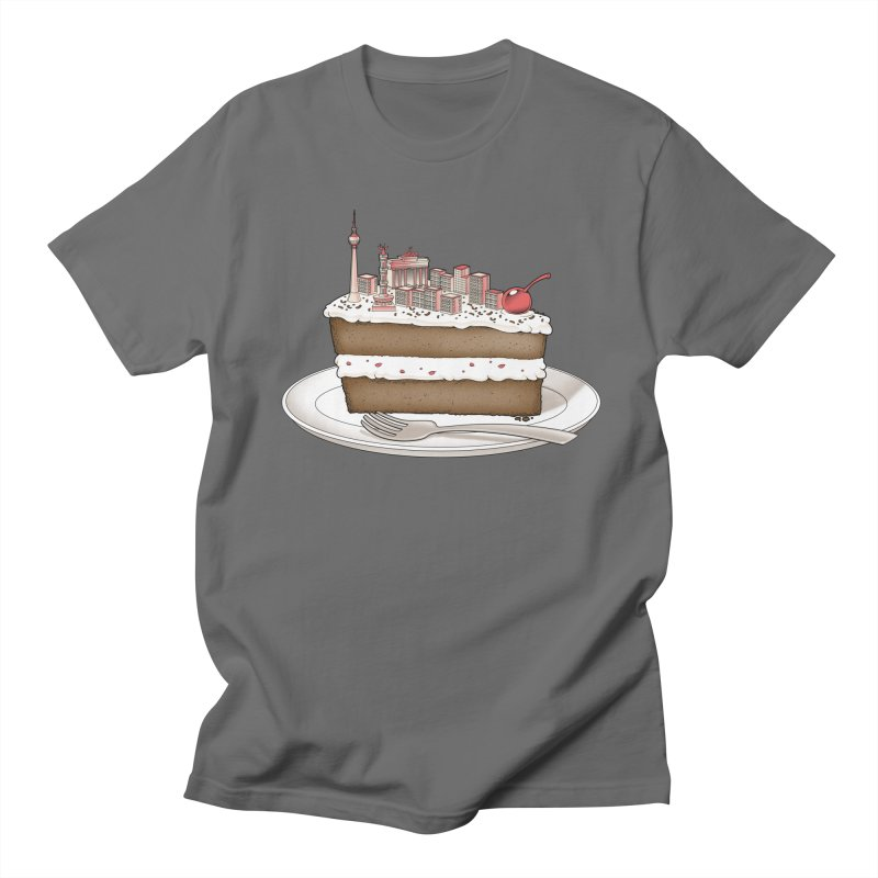 Hungry for Travels: Slice of Berlin Women's Unisex T-Shirt by Tobe Fonseca's Artist Shop