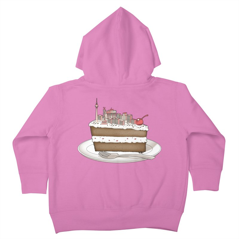 Hungry for Travels: Slice of Berlin Kids Toddler Zip-Up Hoody by Tobe Fonseca's Artist Shop