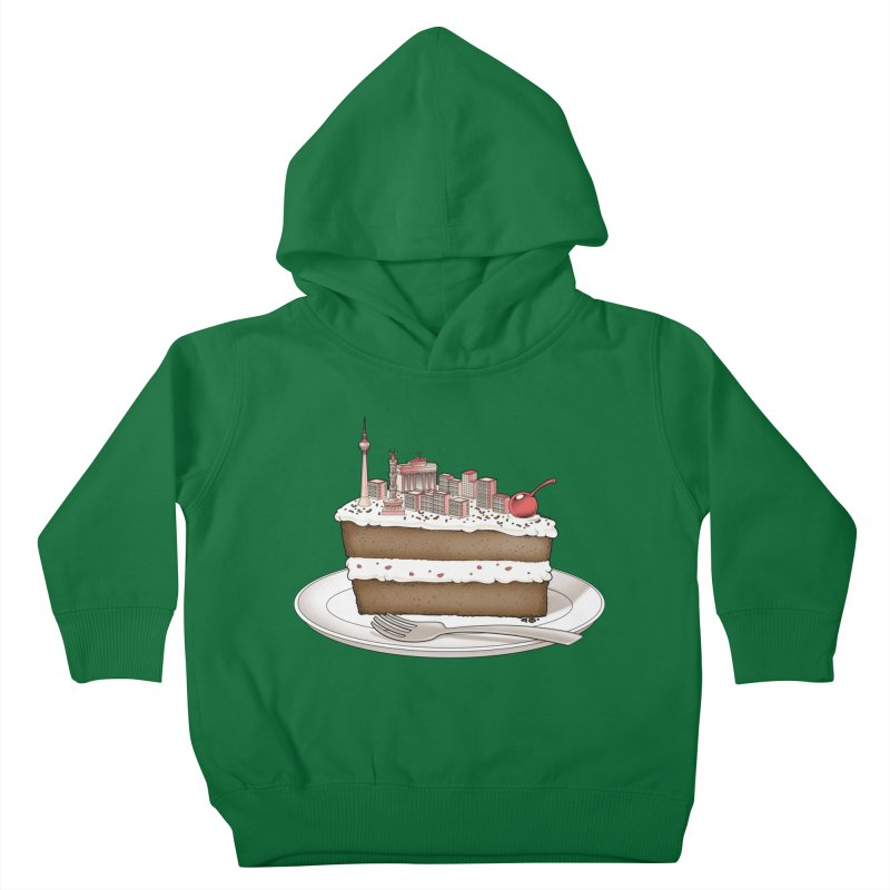 Hungry for Travels: Slice of Berlin Kids Toddler Pullover Hoody by Tobe Fonseca's Artist Shop