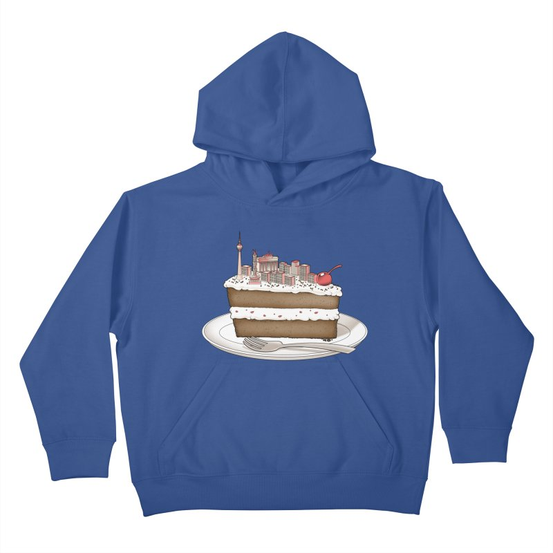 Hungry for Travels: Slice of Berlin Kids Pullover Hoody by Tobe Fonseca's Artist Shop
