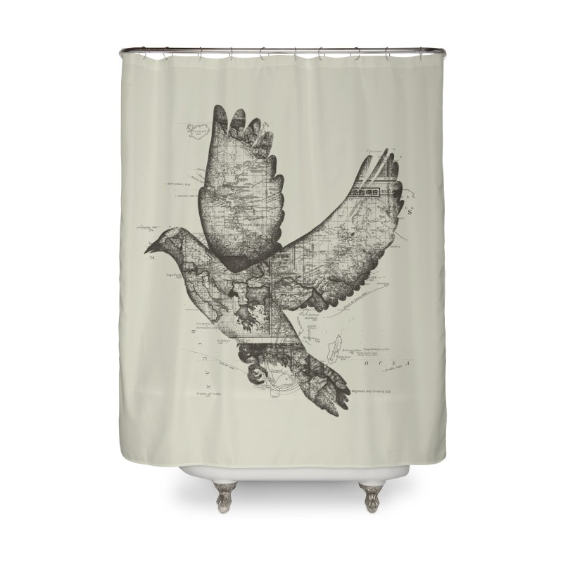 Wanderlust Home Shower Curtain by Tobe Fonseca's Artist Shop