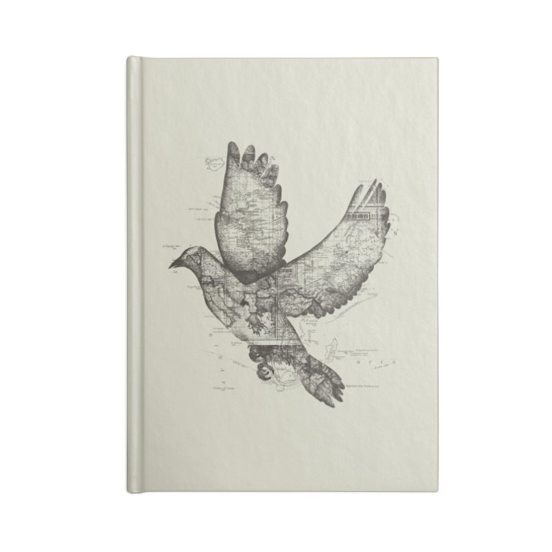 Wanderlust Accessories Notebook by Tobe Fonseca's Artist Shop
