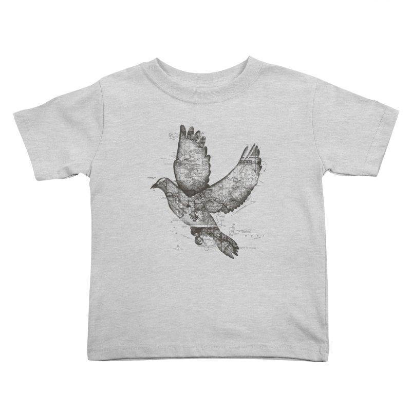 Wanderlust Kids Toddler T-Shirt by Tobe Fonseca's Artist Shop
