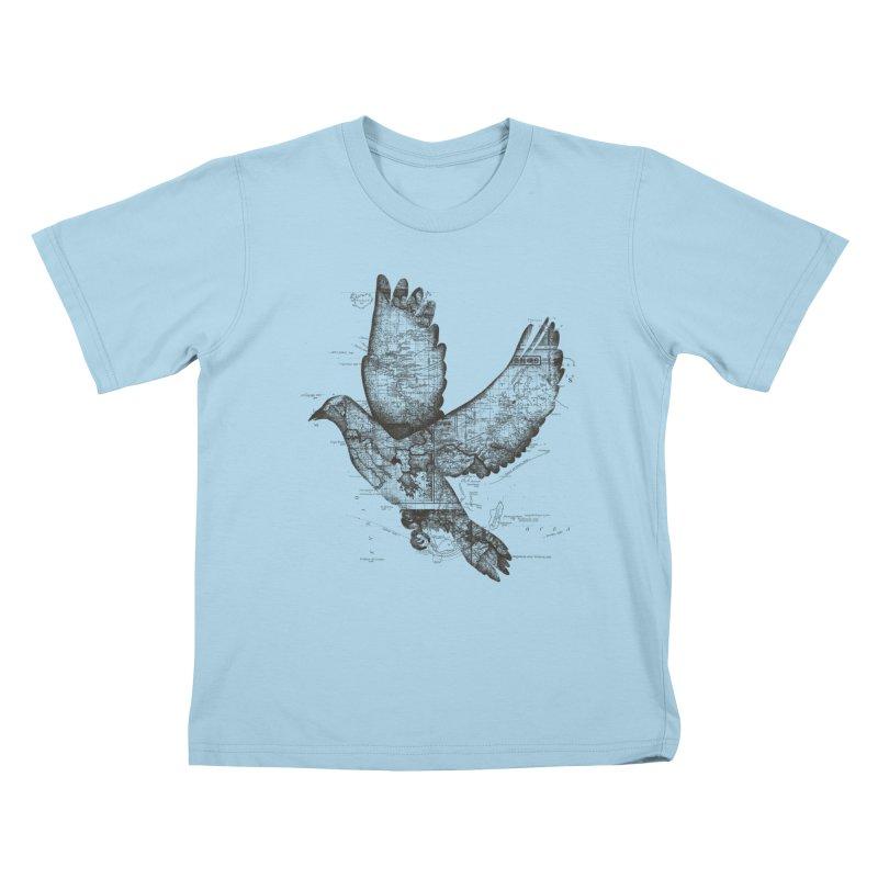 Wanderlust Kids T-Shirt by Tobe Fonseca's Artist Shop