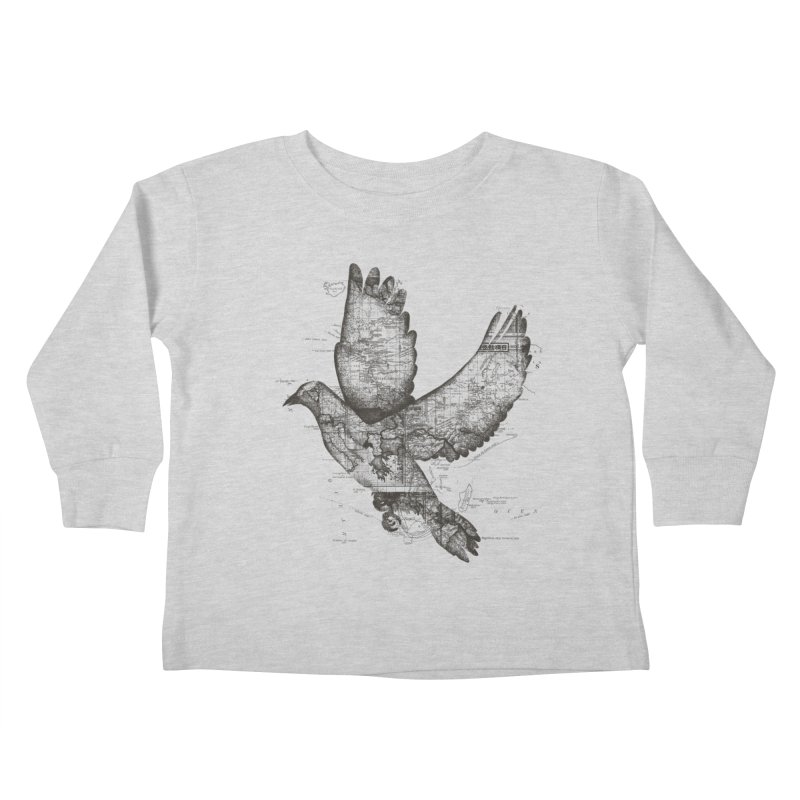 Wanderlust Kids Toddler Longsleeve T-Shirt by Tobe Fonseca's Artist Shop