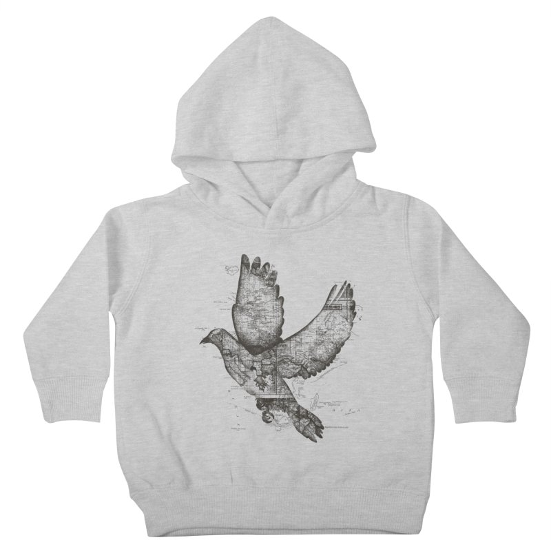 Wanderlust Kids Toddler Pullover Hoody by Tobe Fonseca's Artist Shop