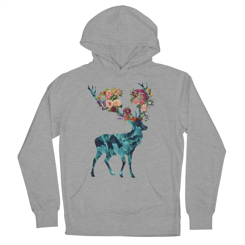 Spring Itself Floral Dark Women's Pullover Hoody by Tobe Fonseca's Artist Shop