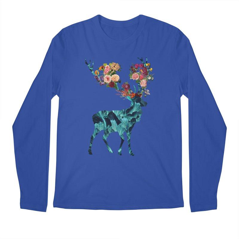 Spring Itself Floral Dark Men's Longsleeve T-Shirt by Tobe Fonseca's Artist Shop