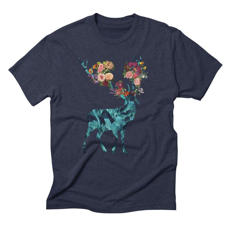 Spring Itself Floral Dark Men's Triblend T-Shirt by Tobe Fonseca's Artist Shop