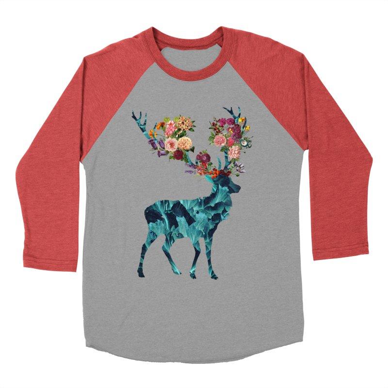 Spring Itself Floral Dark Women's Baseball Triblend T-Shirt by Tobe Fonseca's Artist Shop