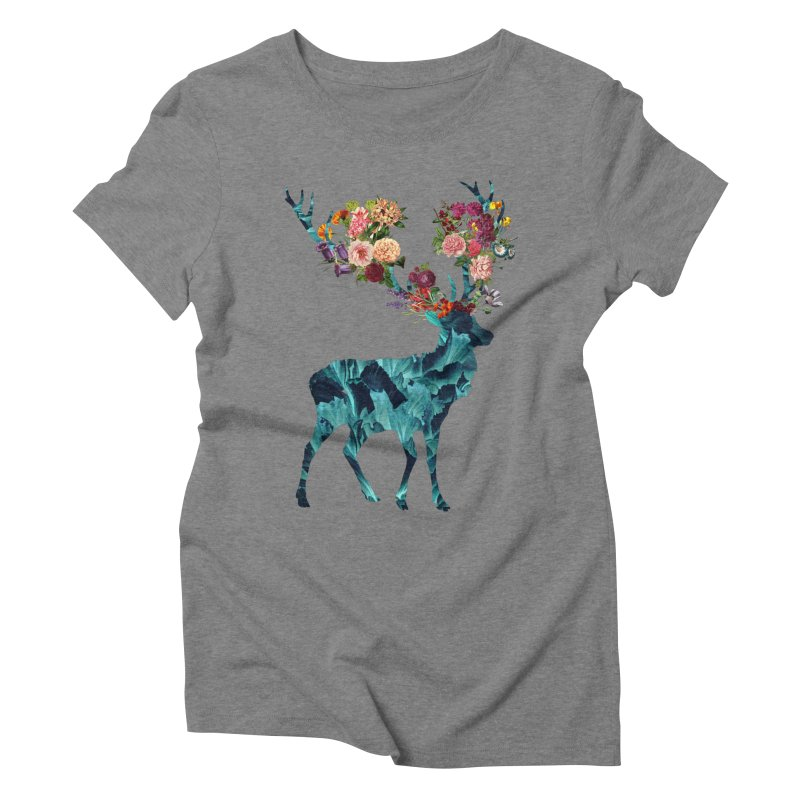 Spring Itself Floral Dark Women's Triblend T-Shirt by Tobe Fonseca's Artist Shop