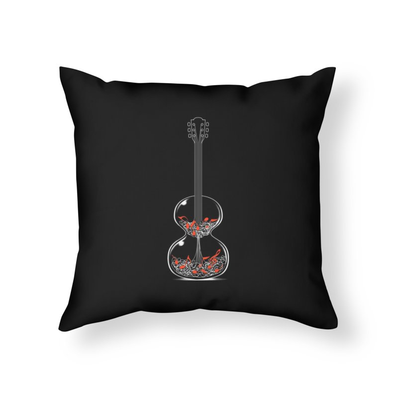 Tempo Home Throw Pillow by Tobe Fonseca's Artist Shop