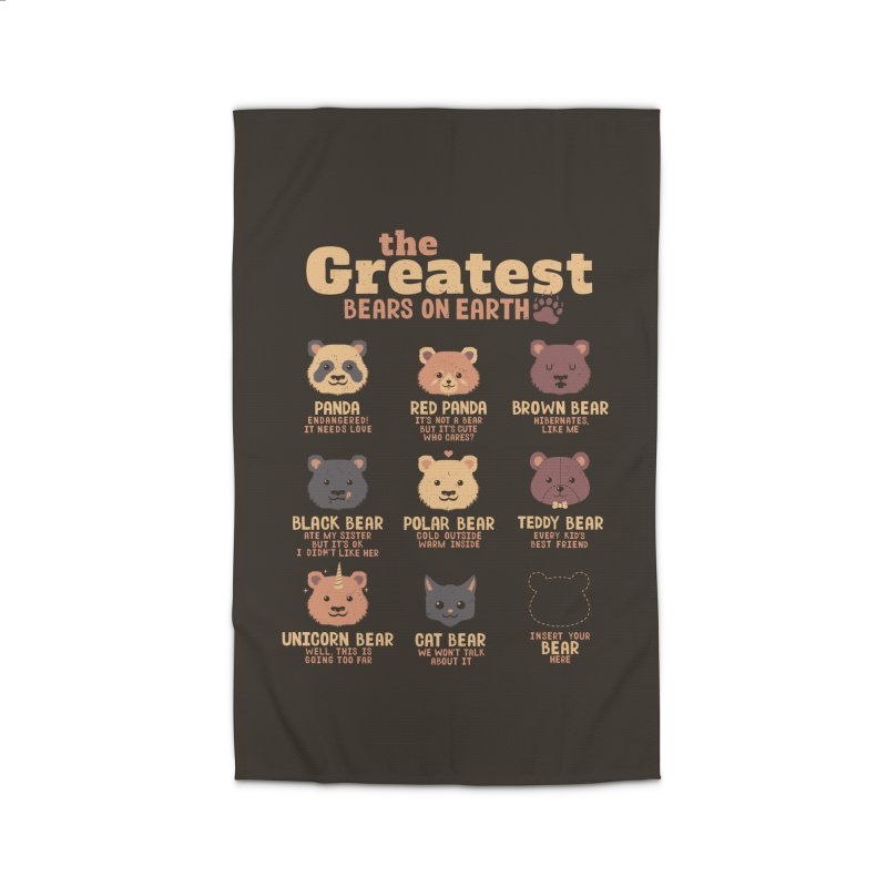 Greatest Bears Insert Your Bear Home Rug by Tobe Fonseca's Artist Shop